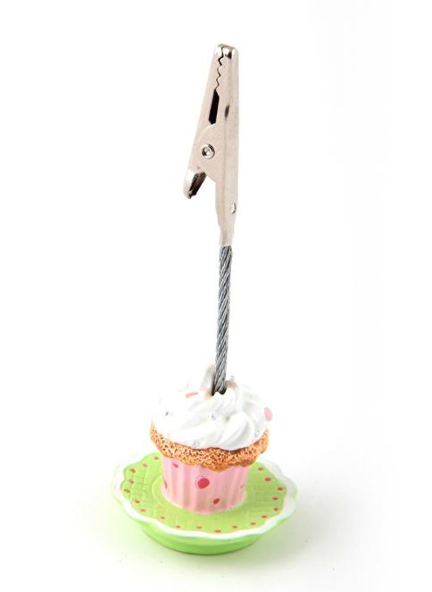 Kanca Ev Cupcake Not/Resim Tutucu Yeşil